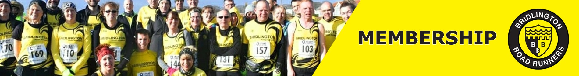 Bridlington Road Runners Season 2020-21 Membership